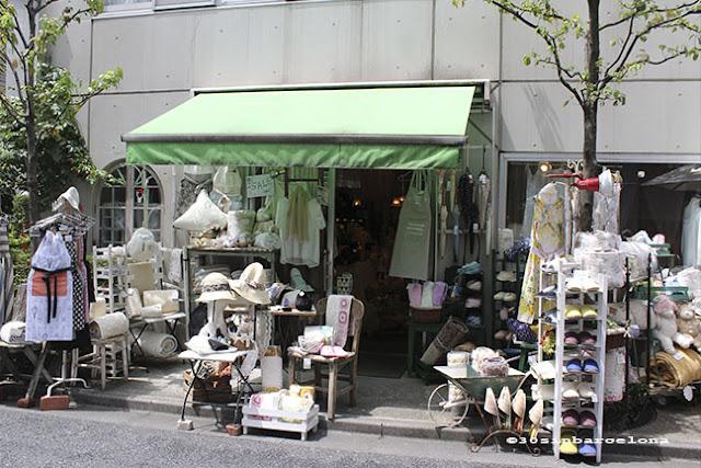 Pretty shop in Shimokitazawa, Tokyo