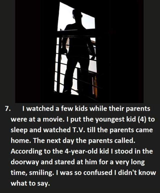 17 creepy things kids