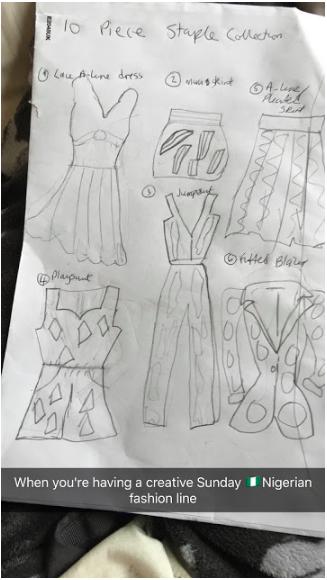 African Design Sketches