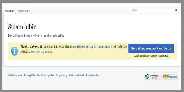 halaman not found wikipedia
