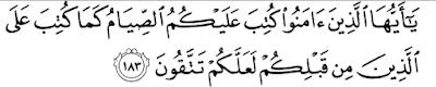 Nama Nama Puasa Sunnah