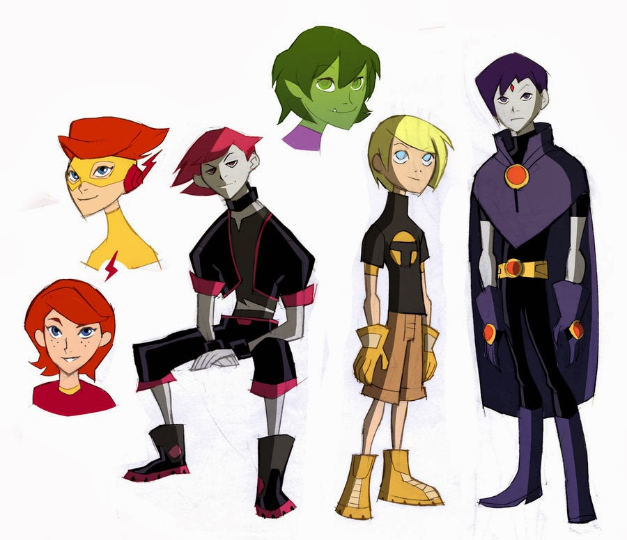 Teen Titans (Opposite World)
