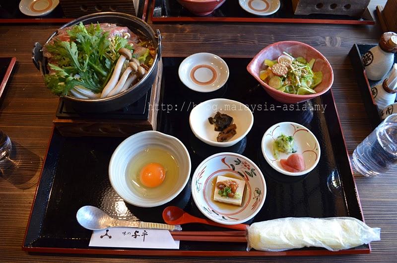 Japanese food in Takayama