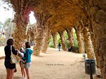 Parque Ell Em Barcelona - Espanha Reas Verdes Das