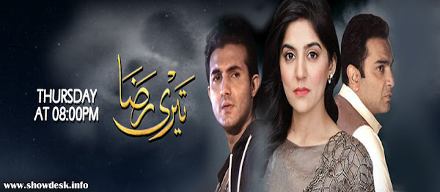Teri Raza OST Full Lyrics ARY Digital | Ali Sethi | Sanam Blacoh