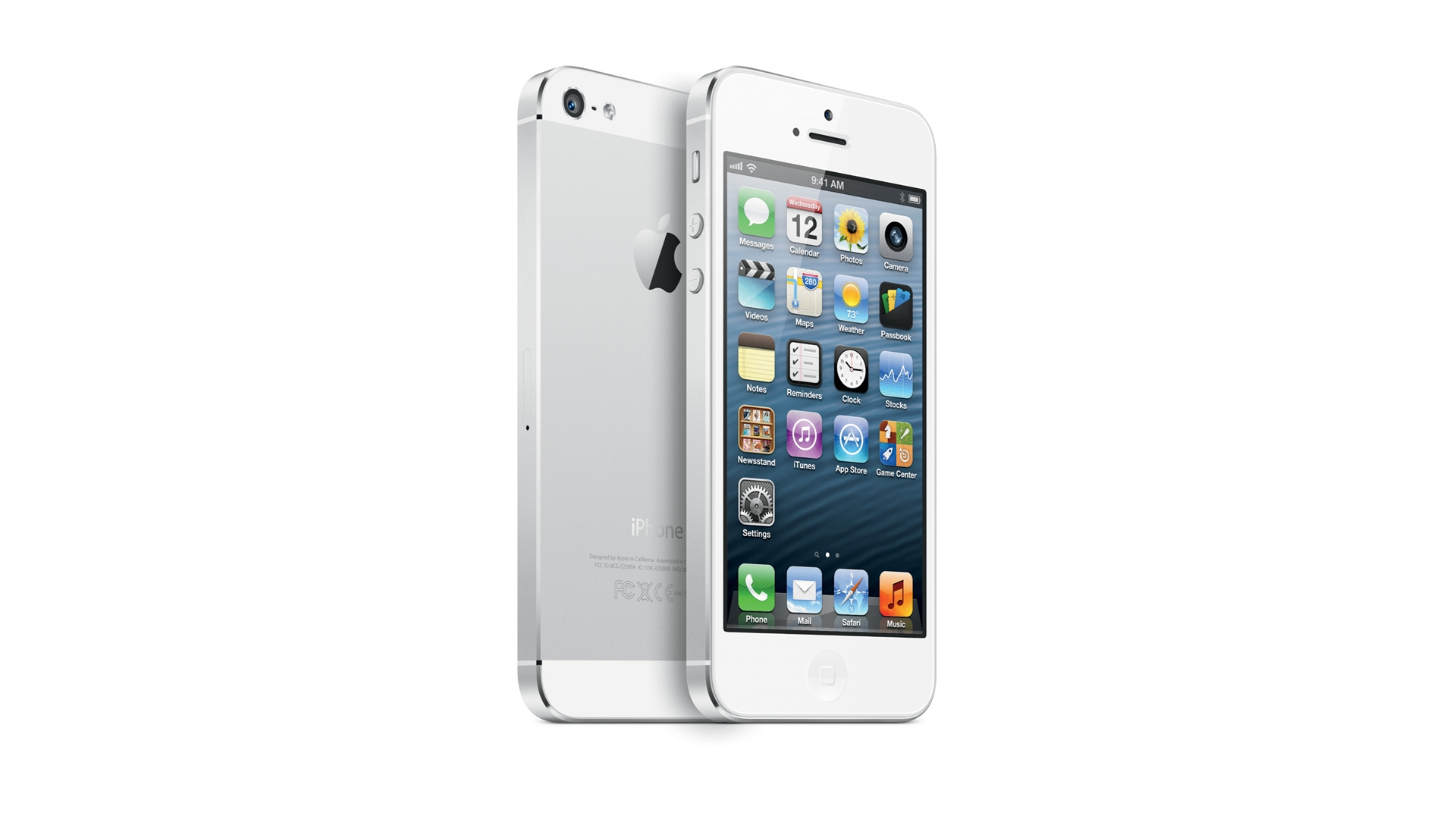 White iPhone 5 - High Definition Wallpapers - HD wallpapers