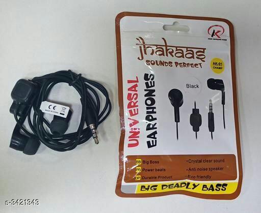 Modern Advanced Useful Wired Earphone