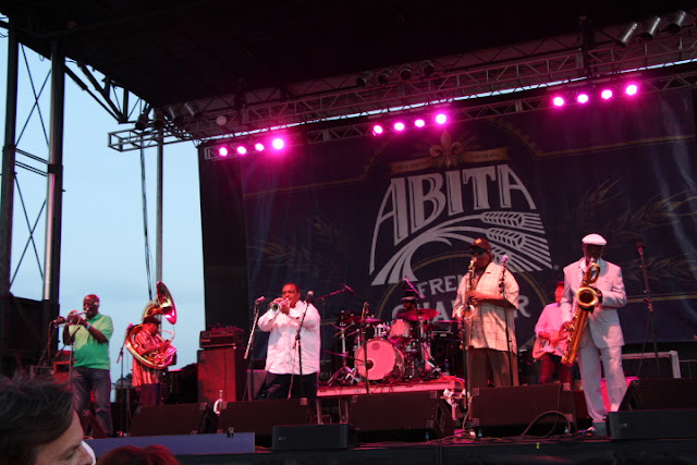 Dirty Dozen Brass Band French Quarter Festival 2016