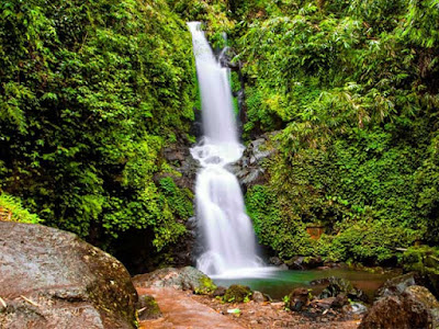 Sekar Langit waterfall