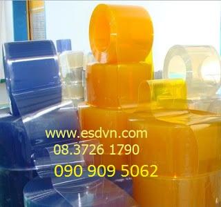 Màn nhựa pvc trong bảo quản kho lạnh