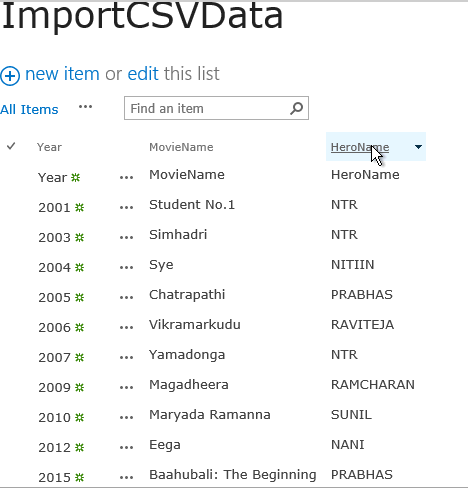 Import Data from excel to SharePoint List using PowerShell