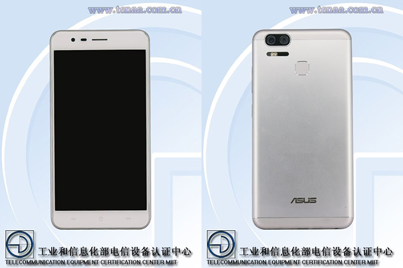 Report: Asus ZenFone 3 Zoom With Dual Main Cameras Spotted At TENAA!