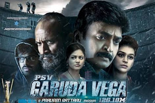 Garuda Vega Telugu Movie Review 2017