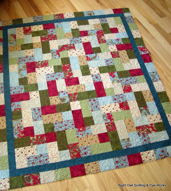 Night Owl Quilting Amp Dye Works Floral Hopscotch