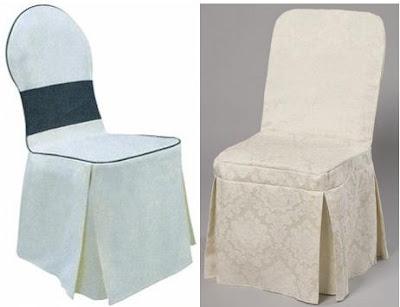 ผ้าคลุมเก้าอี้แบบคลุมทั้งตัว แบบจีบ 4 มุม