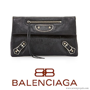 Princess Sofia wore BALENCIAGA Classic Envelope Clutch Bag