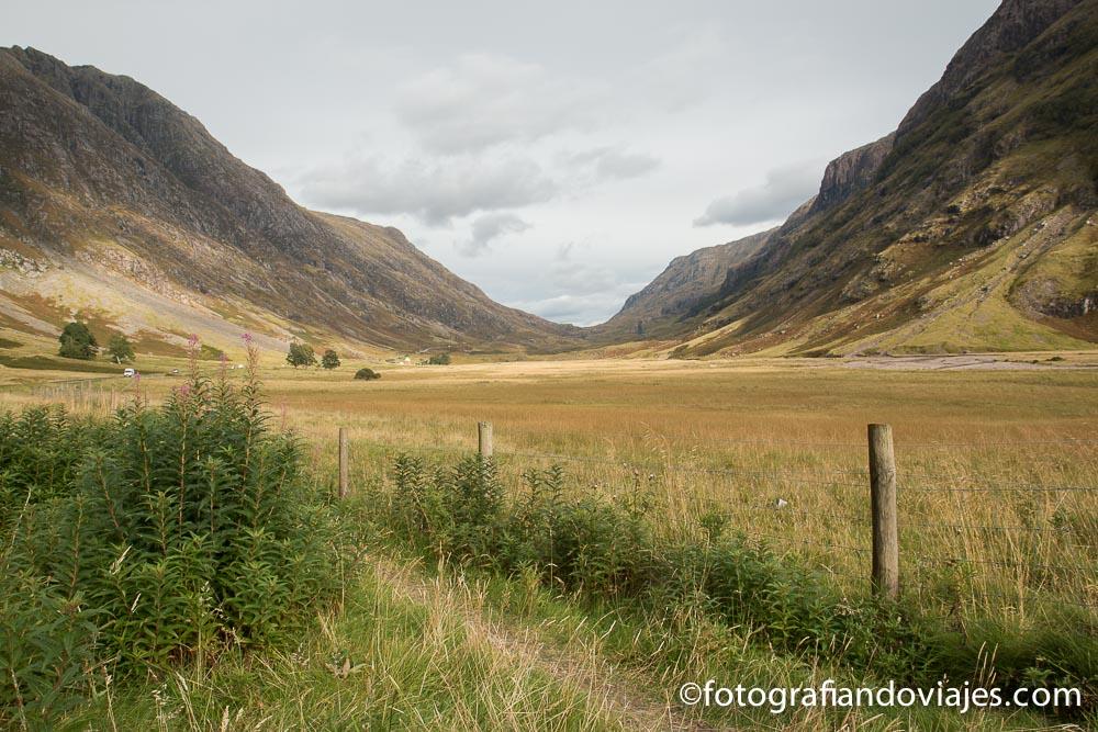 Valle de Glen Coe, Escocia