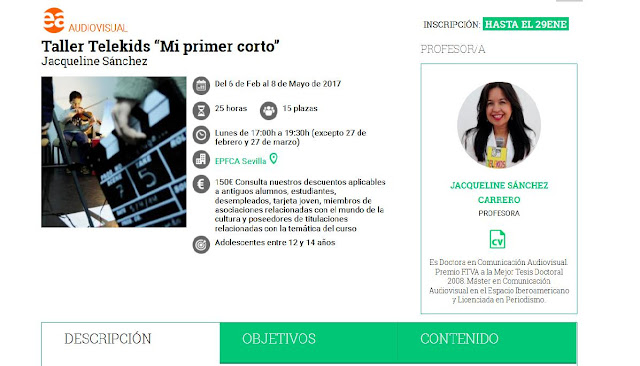 http://www.juntadeandalucia.es/cultura/redportales/formacion-cultural/cursos/taller-telekids-%E2%80%9Cmi-primer-corto%E2%80%9D