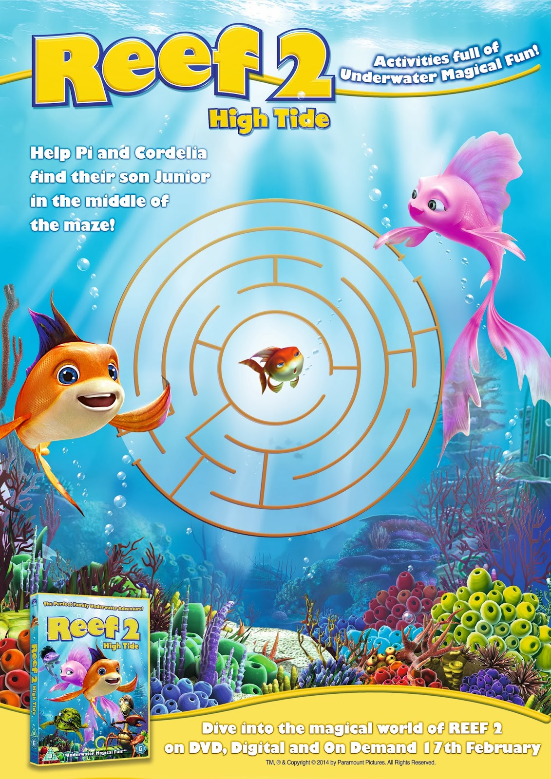 My Mummy S Pennies Win A Copy Of Reef 2 On Dvd And Have Some Underwater Fun