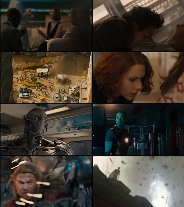 Avengers Age of Ultron 2015 Hindi Dual Audio HDRip 480p