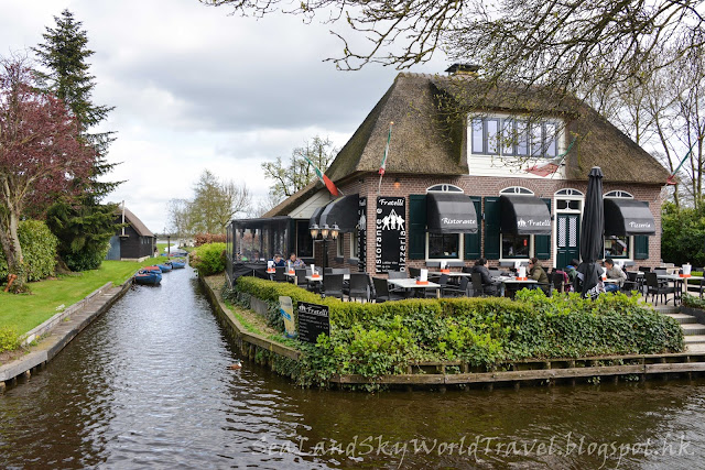 羊角村, Giethoorn, 荷蘭, holland, netherlands, Grachthof, 餐廳