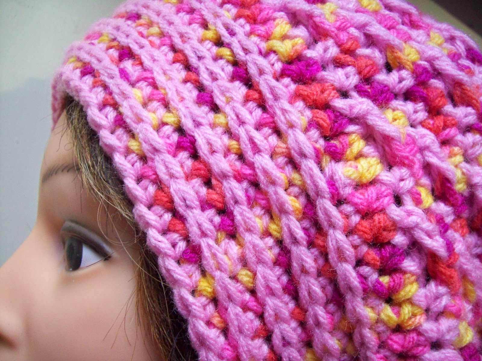 close up hat pattern
