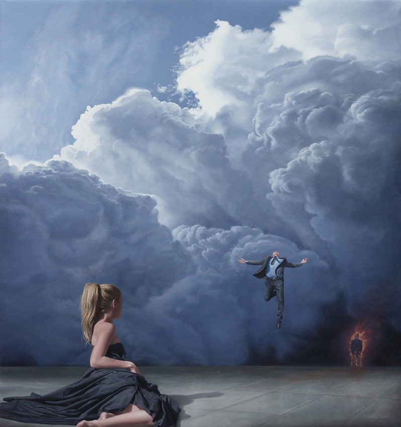 14-Appear-Before-Her-Joel-Rea-Surreal-Emotions-Painted-on-Canvas-www-designstack-co