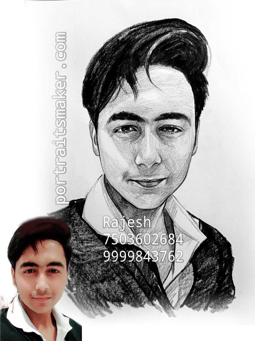 Sketch For Gift - Sketch, Sketch Artist, Portrait Artist In Delhi