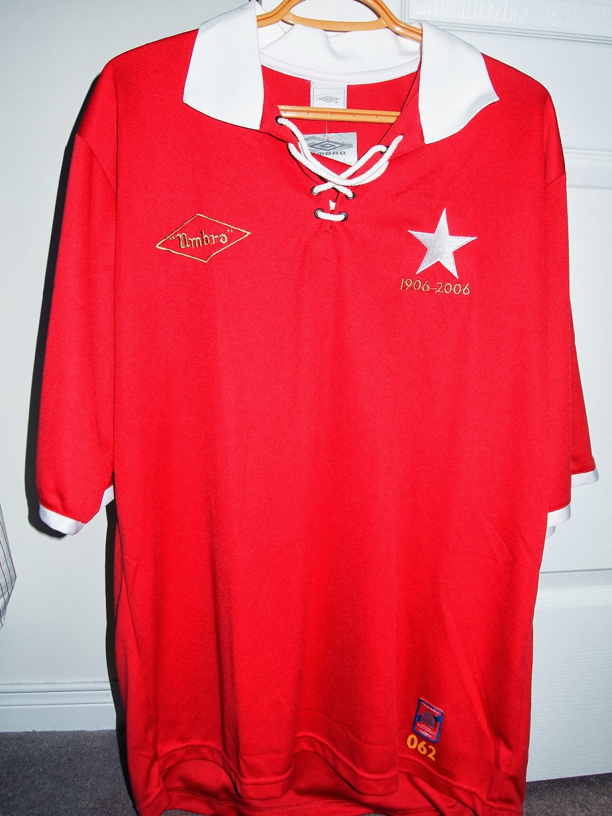 My Umbro Football Jerseys Collection: Wisla Krakow 2006 ...