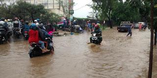 Banjir Landa Kawasan Gedebage Kota Bandung