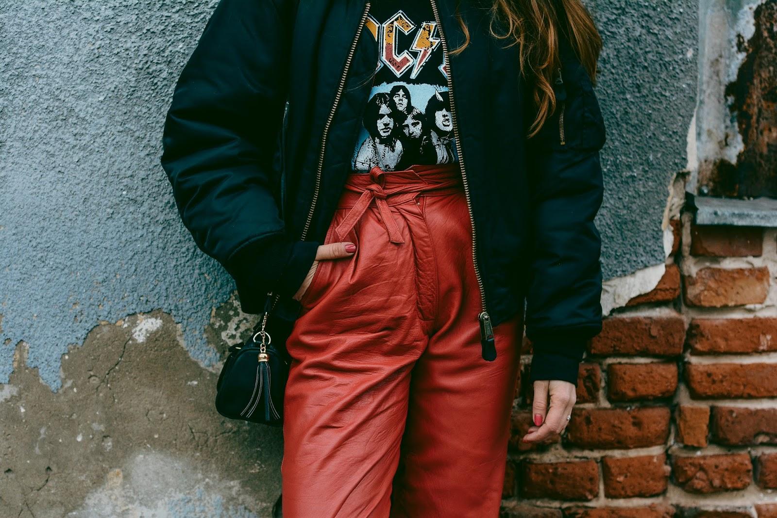 ac dc vintage hoodie