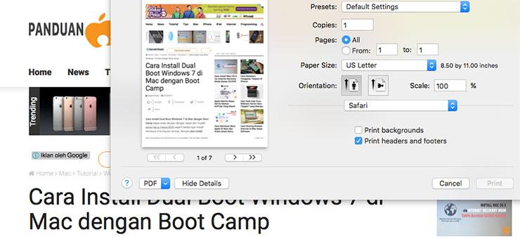 Cara Membuat, Menggabungkan dan Memisahkan File PDF di Mac