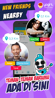 Yogrt Apk v2.9.1 Aplikasi Mencari Teman