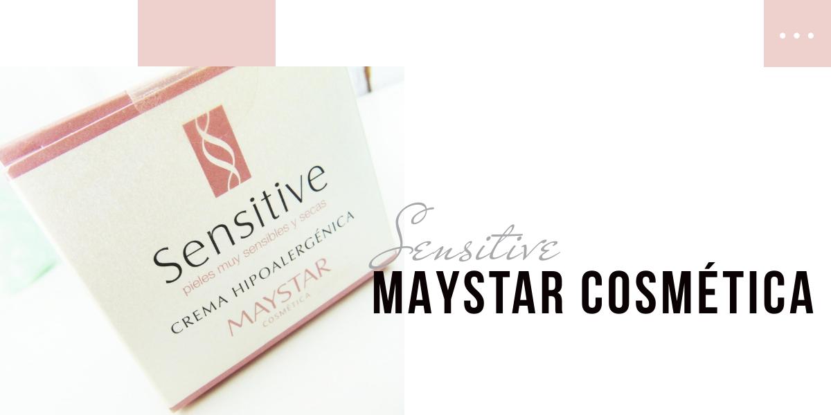 SENSITIVE, CREMA HIPOALERGÉNICA DE MAYSTAR COSMÉTICA