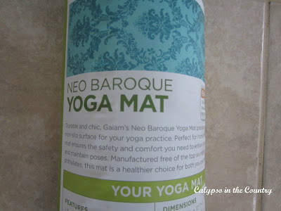 Yoga Mat - There are so many pretty new styles on the market these days!