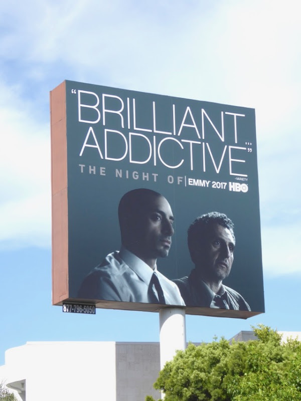 Night Of Brilliant Addictive 2017 Emmy FYC billboard