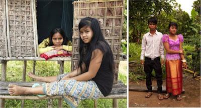 www.beritacrot.com-Waw, Gubuk Cinta Tradisi Kamboja Yang Mewajibkan Gadisnya Berhubungan Seks Di Dalamnya