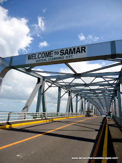 San Juanico Bridge from Leyte view