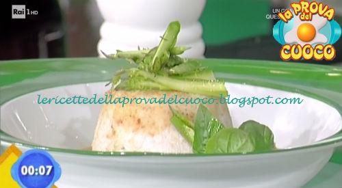 Pollo ripieno di asparagi su crema di pomodoro ricetta Giunta da Prova del Cuoco