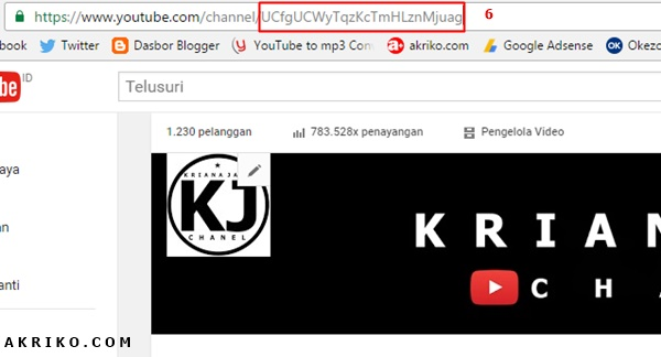 Cara Membuat Tombol Subscriber pada Video Youtube