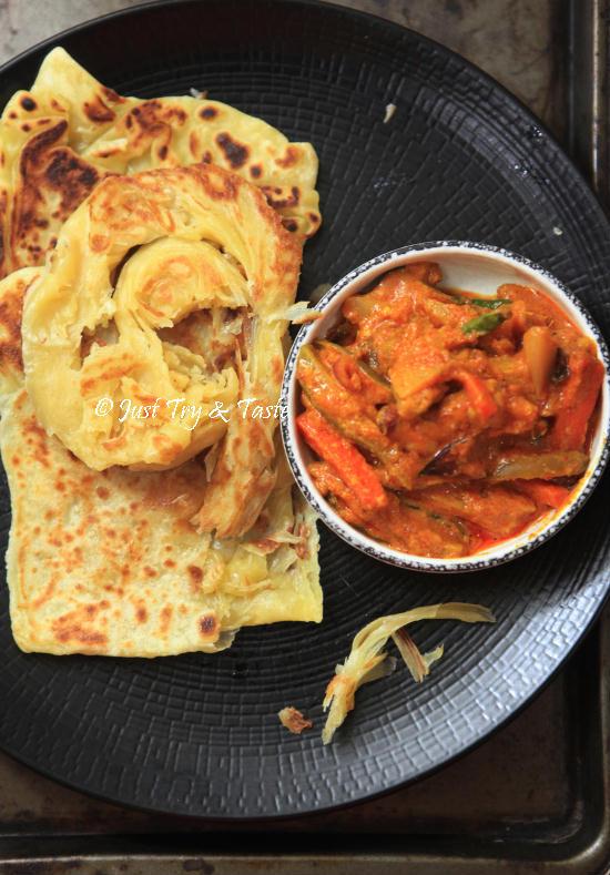 Resep Parata Kentang : resep, parata, kentang, Obsesi, Resep, Homemade, Canai, (Paratha), Taste