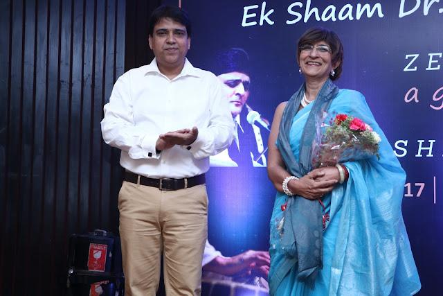 Zeeshan Niyazi and Dr. Mridula Tandon