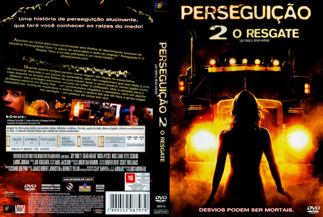 Capa DVD Perseguição 2 O Resgate