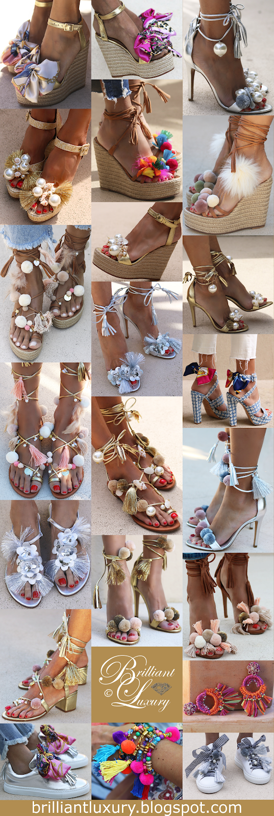 Brilliant Luxury ♦ Alameda Turquesa ~ fab shoes and more