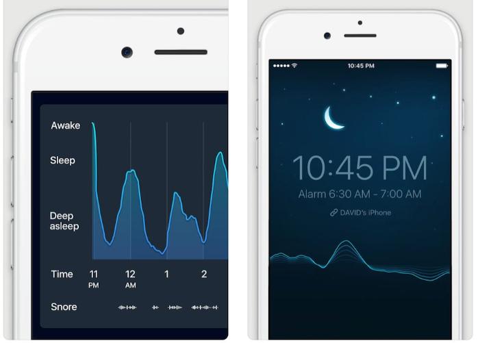 App IOS per tracciare il ciclo del sonno