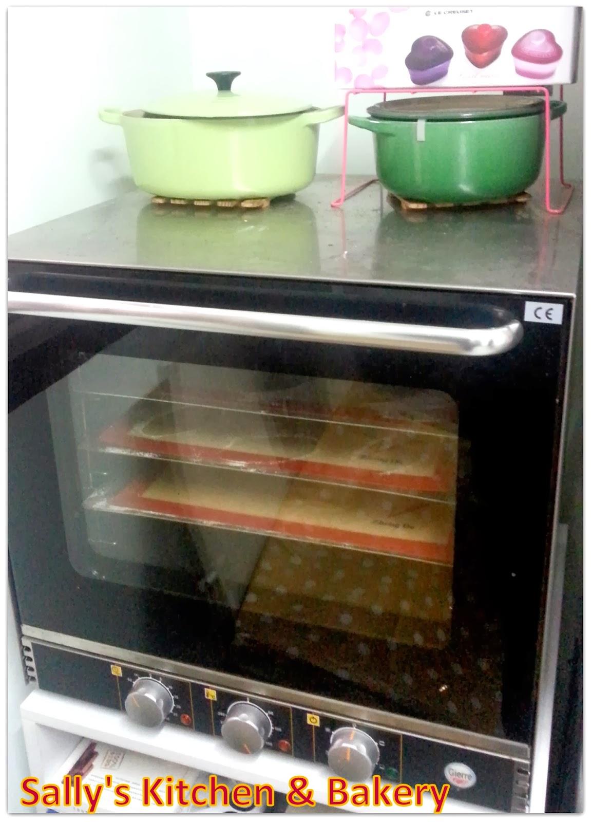 Sally's Kitchen & Bakery: 我的Gierre大焗爐
