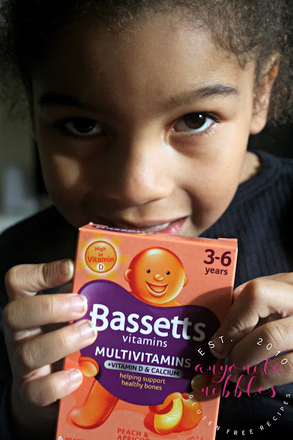 Give your kids the added vitamin D, calcium and all the nutrients they need with a daily delicious peach and apricot multivitamin from Bassett's Vitamins!