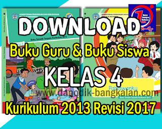 Download Buku Guru Dan Buku Siswa Kelas 4 Kurikulum 2013