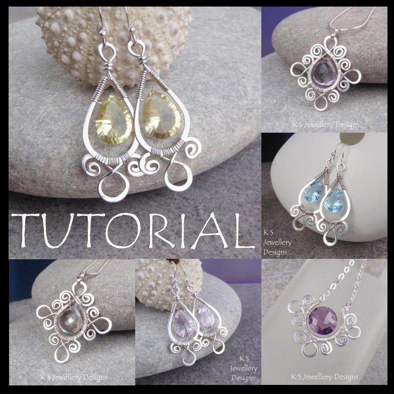 K S Jewellery Designs New Wire Jewelry Tutorial Sprial