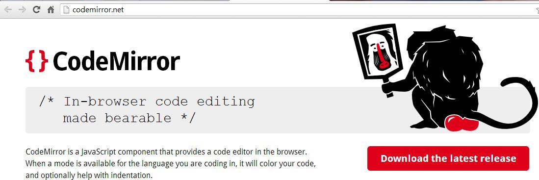 potatoes and carrots no bones: Web Code Editor: Codemirror, Getting